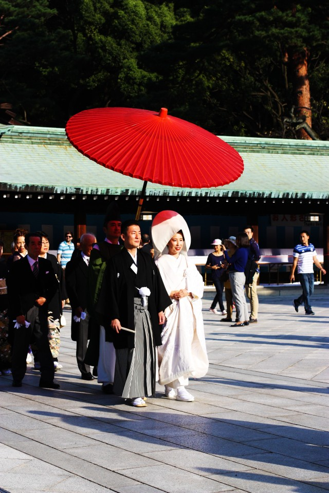 Traditional wedding Meiji Jingu