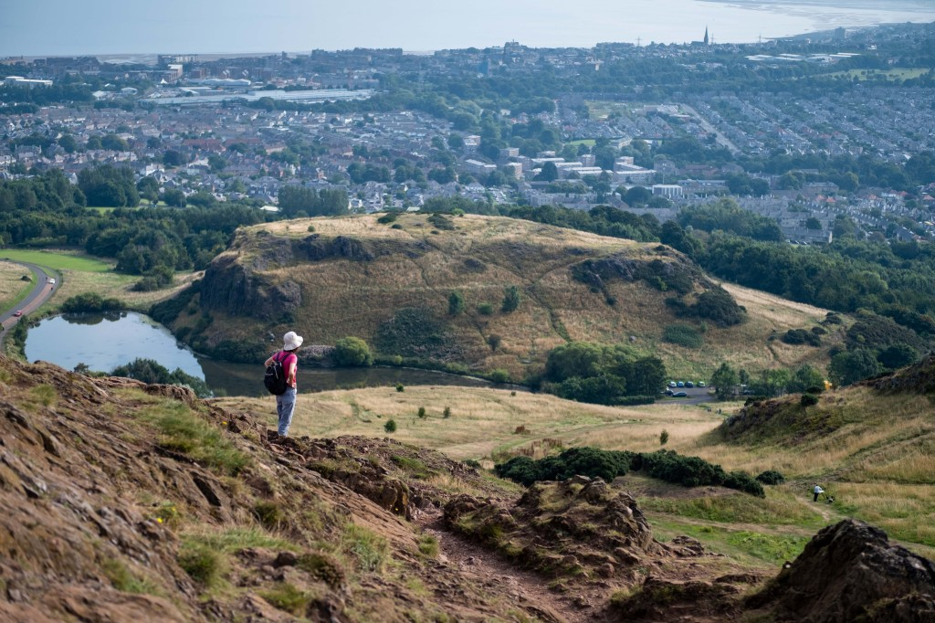 Arthur's Seat in Edinburgh